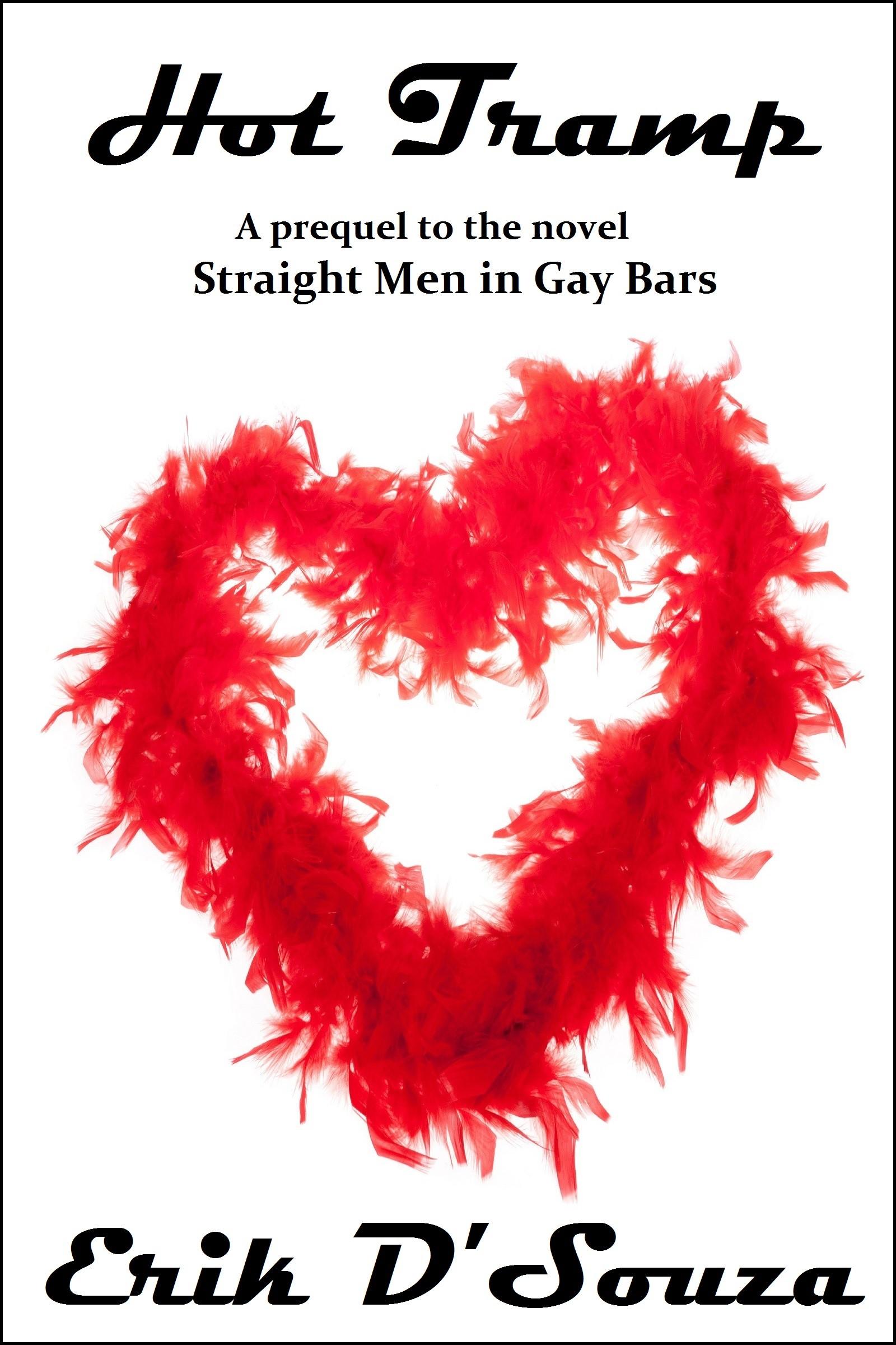 red feathers-boas, heart shape